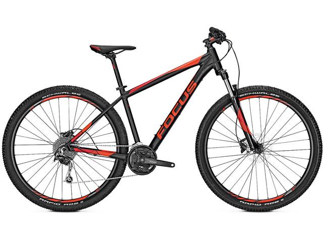 FOCUS Whistler 3.7 MTB Hardtail rød/sort (2019) | Mountainbikes